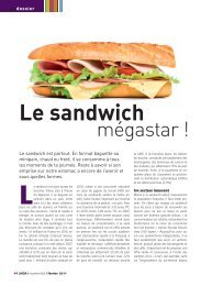 Le sandwich mégastar - LMDA - Le Monde De La Distribution ...