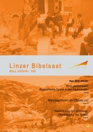 Bibelsaat 108 (pdf - ca. 1 MB) - Diözese Linz