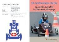 10. Seifenkisten-Derby - Surselva.info