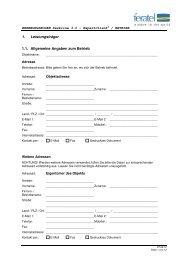 Erhebung_Leistungsträger Ferienwohnung - Surselva Info