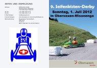 9. Seifenkisten-Derby - Surselva.info