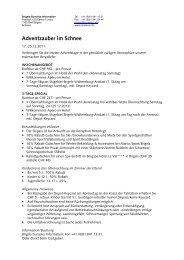 flyer adventzauber - Surselva Info