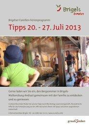 deckblatt tipps für Familien 2 - Surselva.info