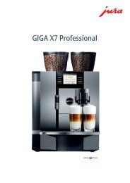 GIGA X7 Professional - Sus-kaffeeservice.de