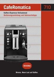 CafeRomatica 710 - Sus-kaffeeservice.de
