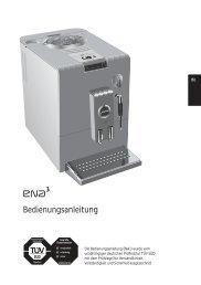 Bedienungsanleitung ENA 3 - Jura