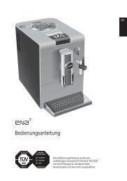Bedienungsanleitung ENA 7 - Jura