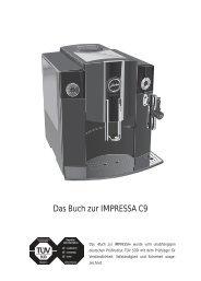 Das Buch zur IMPRESSA C9 - Jura