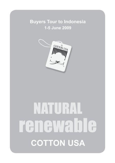 renewable - MTMA  Malaysian Textile Manufacturers Association
