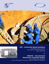 CBS – Community Based Sanitation DEWATS ... - SuSanA