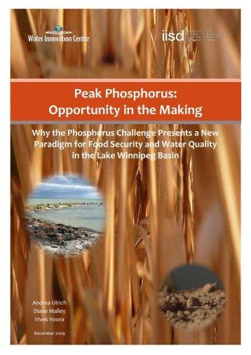 Peak Phosphorus - SuSanA