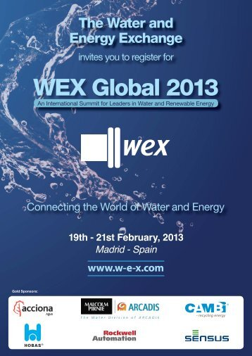WEX Global 2013 - SuSanA