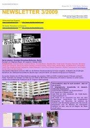 NEWSLETTER 3/2009 - Susanne Bosch
