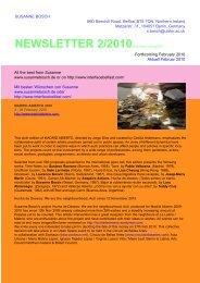 BOSCH newsletter2-2010 - Susanne Bosch