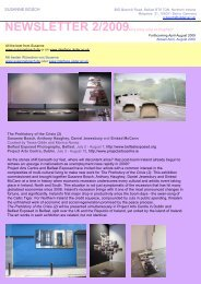 NEWSLETTER 2/2009this time only in English! - Susanne Bosch