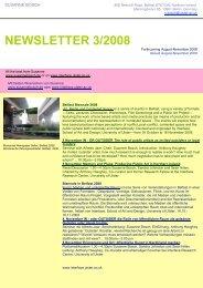 NEWSLETTER 3/2008 - Susanne Bosch