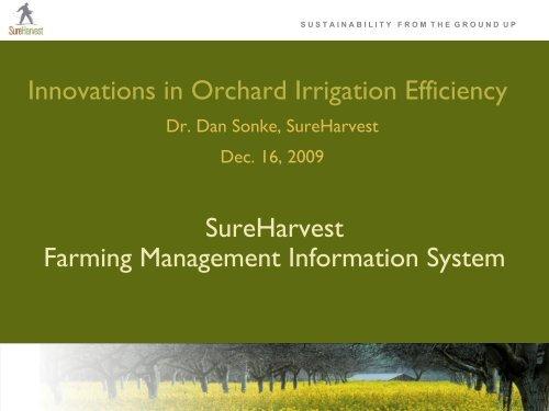 SureHarvest Farming Management Information System