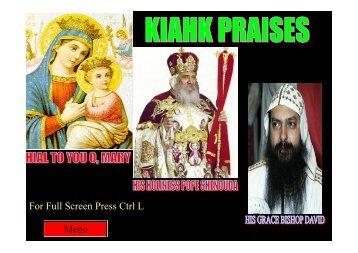 For Full Screen Press Ctrl L Menu