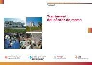 Tractament del càncer de mama - Hospital Universitari de Bellvitge
