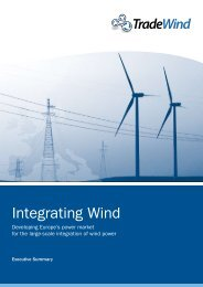 Integrating Wind, Executive Summary