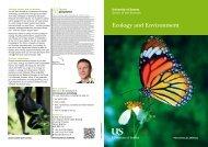 Ecology 2013 Booklet [PDF 127.93KB] - University of Sussex
