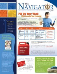 Spring 2012 - Sussex County Federal Credit Union