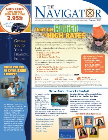 Summer 2012 - Sussex County Federal Credit Union