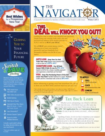 Winter 2013 - Sussex County Federal Credit Union