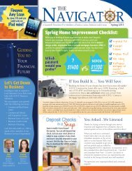 Spring 2013 - Sussex County Federal Credit Union
