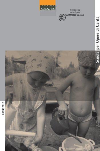 Scarica la brochure - Fondazione per la Sussidiarietà