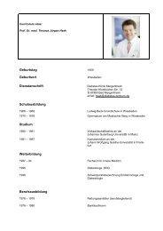 Prof. Dr. med. Thomas Jürgen Haak - FIDAM