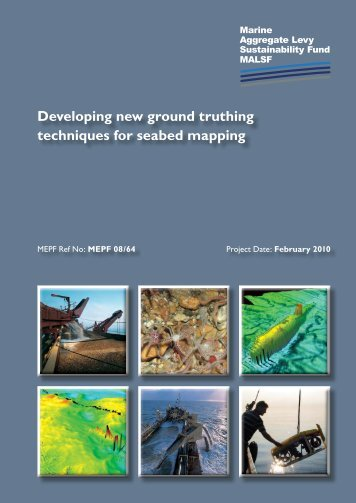 Developing new ground truthing techniques for seabed mapping