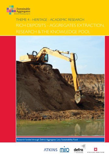 RICH DEPOSITS - AggREgATES ExTRACTIOn, RESEARCH & THE ...