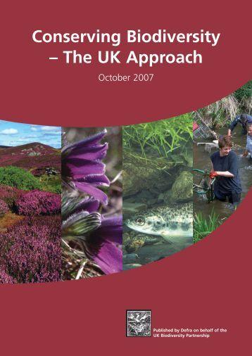 Conserving Biodiversity – The UK Approach - London Biodiversity ...