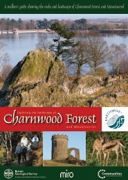 Charnwood Forest - Sustainable Aggregates