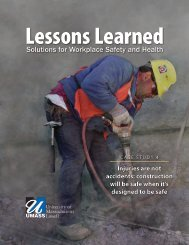 Case Study 4 Lessons Learned - Lowell Center for Sustainable ...