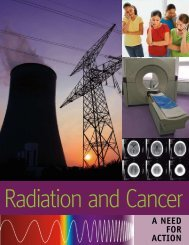 Radiation and Cancer: A Need for Action - Lowell Center for ...