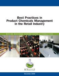 Best Practices in Product Chemicals Management in the Retail ...
