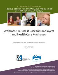 Asthma: A Business Case for Employers and Health Care Purchasers