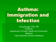 Asthma: Immigration and Infection