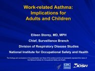 Work-related Asthma: Implications for Adults and Children