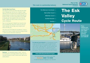 Esk Valley Cycle Route Leaflet - Sustrans