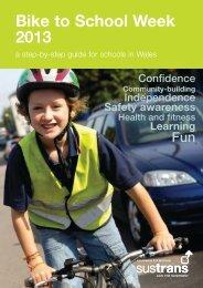 Bike to School Week 2013 - Sustrans