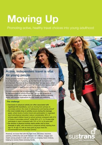Moving Up - Sustrans