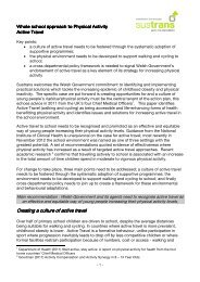 Whole school approach to physical activity - Sustrans