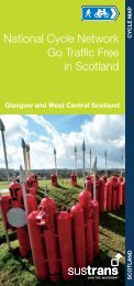 Glasgow and West Central Scotland - Sustrans