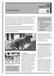 Cycle parking - ways2work