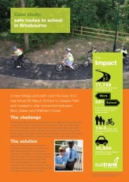 Download the case study (pdf) - Sustrans