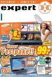 Top- Festpaket! Unser 99. - Expert Schultes