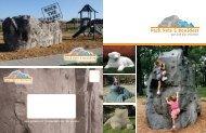 Download the Parks, Pets & Boulders Brochure - Suttle Recreation